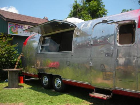 Airstream Argosy Food Concession Trailer Sold This 4 Years Ago The Owner Has Used It As Pizza Truck After Of Trucking