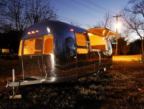 1969 Airstream Globetrotter You Can Design The Interior To Your Dream Great Condition Trailer For Sale Or Rent Business Advertising Tool During